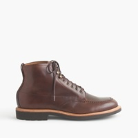 J.Crew Kenton Leather Pacer Boots Burnished Tobacco