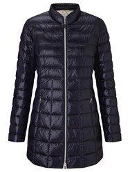 Gerry Weber Quilted Padded Jacket Navy