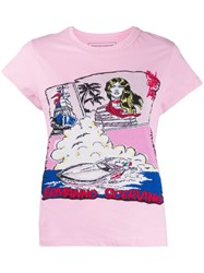 Ermanno Scervino Knitted Graphic T Shirt 60