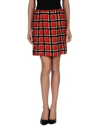 Marc By Marc Jacobs Knee Length Skirts Red