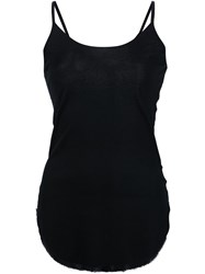 Lost And Found Ria Dunn Sheer Back Tank Top Black