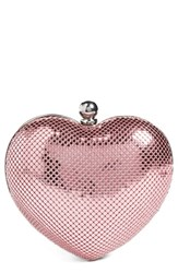 Whiting And Davis 'Charity Heart' Minaudiere