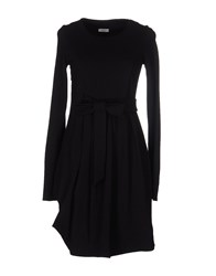 Le Ragazze Di St. Barth Short Dresses Black