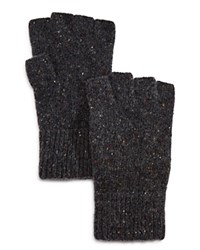 Bloomingdale's The Men's Store At Donegal Fingerless Gloves Charcoal