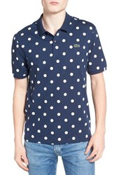 Lacoste Men's L Ve Polka Dot Polo