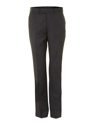 Simon Carter Explorer Regular Fit Suit Trousers Charcoal