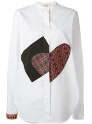 Ports 1961 Multi Patched Shirt White