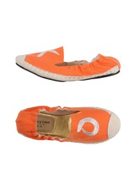 Cocorose London Espadrilles Orange