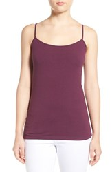 Women's Halogen 'Absolute' Camisole Purple Italian