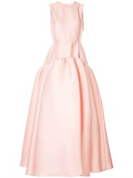 Huishan Zhang Sleeveless Full Gown Pink
