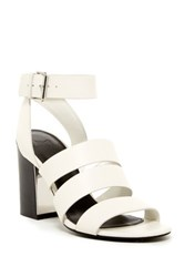 Marc Fisher Pearl Chunky Sandal White