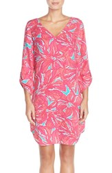 Women's Lilly Pulitzer 'Arielle' Print Crepe Shift Dress