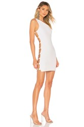 By The Way Stacie Side O Ring Bodycon White