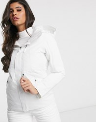 The North Face Gatekeeper Ski Jacket In White