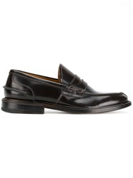 Premiata Classic Slip On Loafers Brown