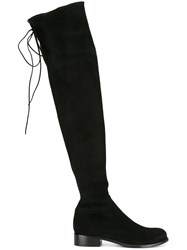 Ermanno Scervino Knee Length Boots Black