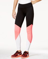 Material Girl Juniors' Colorblocked Leggings Only At Macy's Black
