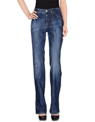 Blu Byblos Denim Pants Blue