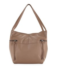 Kooba Marina Large Leather Tote Bag Camel