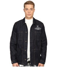 Vivienne Westwood Anglomania Worker's Jacket Blue Denim