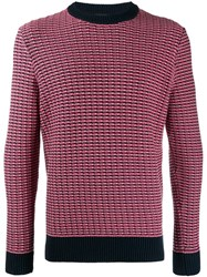 J. Lindeberg J.Lindeberg Chester Slim Fit Jumper Blue