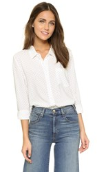 Soft Joie Anabella Star Blouse Porcelain Navy