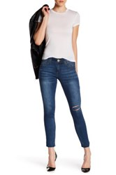 Democracy Ab Technology Freedom Ankle Skimmer Jean Blue