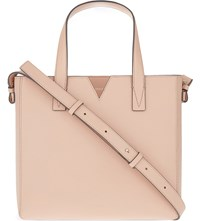 Vince Baby Leather Tote Blush