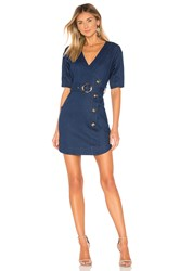 Elliatt Solange Dress Indigo