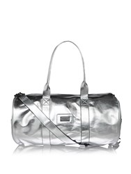 Seafolly Carried Away Leisure Luxe Gym Bag Silver