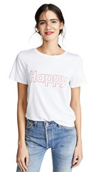 South Parade Happy Tee White