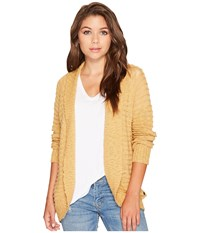 Roxy Let's Go Anywhere Cardigan Curry Women's Sweater Multi