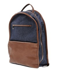 Brunello Cucinelli Backpacks And Fanny Packs Blue