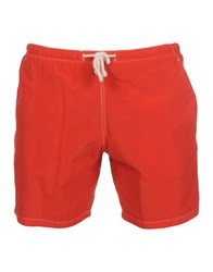 Mosaique Swim Trunks Red