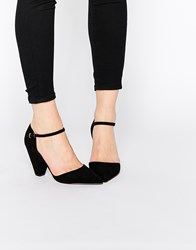 Asos Speaker Pointed Heels Black