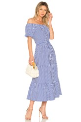Mds Stripes Lexi Dress Blue