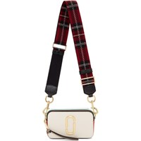 Marc Jacobs Off White Small Snapshot Bag