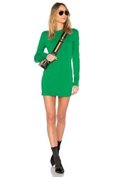 Cotton Citizen The Tokyo Mini Dress Green