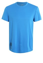 Zalando Sports Shirt Electric Blue Lemonade Neon Blue