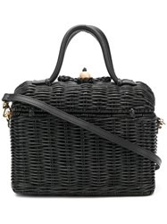 Ulla Johnson Perle Lunchbox Bag Black
