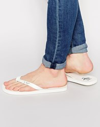 Original Penguin Flip Flops White