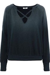 Lna Cotton Terry Sweatshirt Black