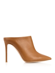 Gianvito Rossi Point Toe Leather Mules