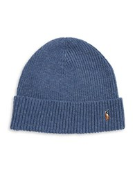 Polo Ralph Lauren Merino Wool Beanie Night Blue