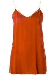 Forte Forte Cami Top Yellow Orange