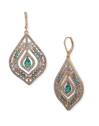 Lonna And Lilly Chandelier Dangling Earrings Gold