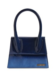 Jacquemus Le Grand Degrade Suede Leather Bag Shade Blue