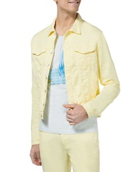 New Man Voltan Lemonade Stretch Denim Jacket