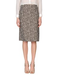 'S Max Mara Skirts Knee Length Skirts Women Cocoa