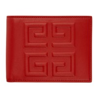 Givenchy Red 4G Logo Wallet
